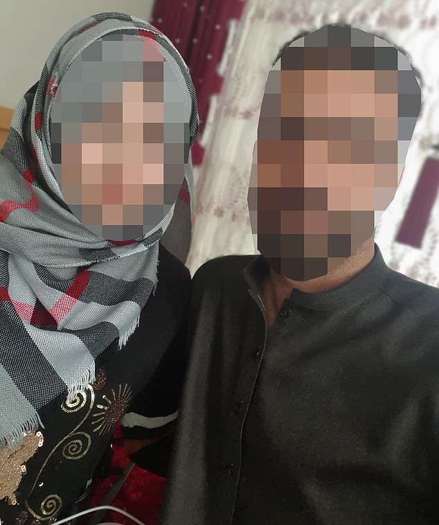 Rahimi, 22 applied to join her husband Fahim in Britain but was rejected six weeks ago