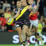 AFL superstar Dustin Martin is out for the SEASON with a serious kidney injury 💥👩💥