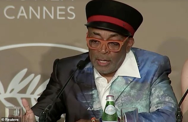 Oops! Cannes Film Festival Jury President Spike Lee accidentally revealed the Palme d'Or winner before presenting awards in spectacular blunder during Saturday's closing ceremony