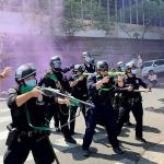 LAPD confirms 40 arrested during violent transgender rights protest outside Koreatown spa 💥👩💥