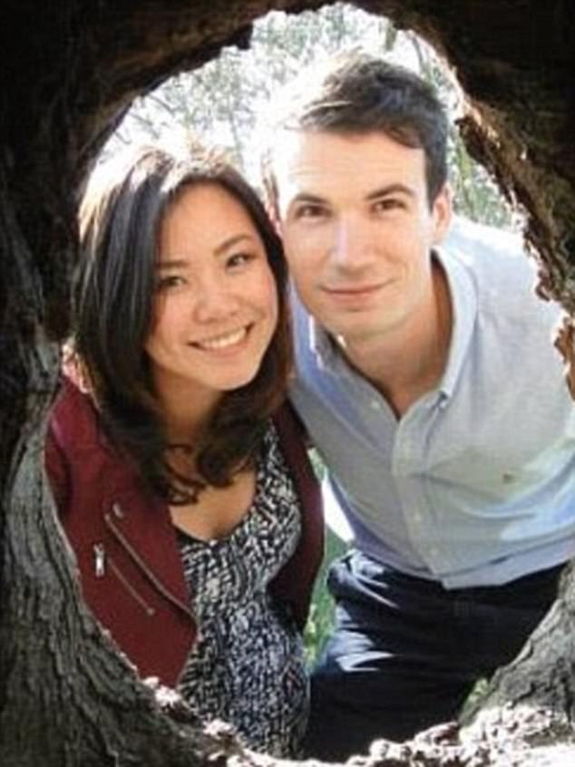 Melbourne couple Emiel Mahler and girlfriend Elaine Teoh (right), both 27, were on their way to a wedding in Malaysia