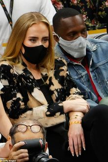 Adele cannot comprise her pleasure as she makes uncommon public outing to look at NBA Finals in Arizona