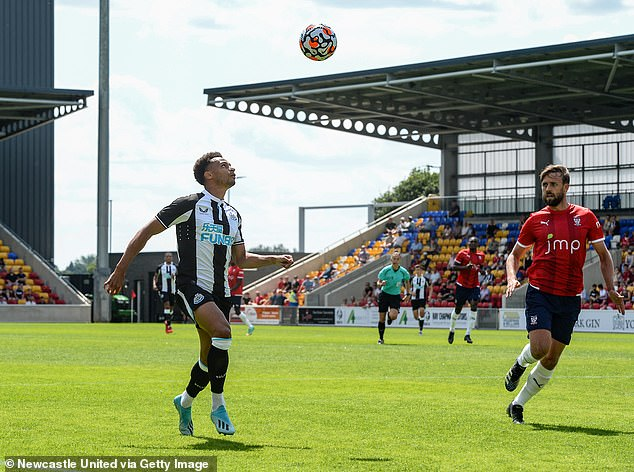 Jacob Murphy and co struggled to break through the York backline in sweltering conditions