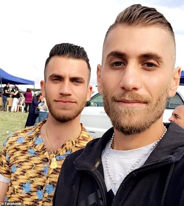 Pictured: Roni (left) and Ramsin (right)Shawka, have pleaded guilty to breaching public health orders after travelling to regional NSW after testing positive to Covid-19