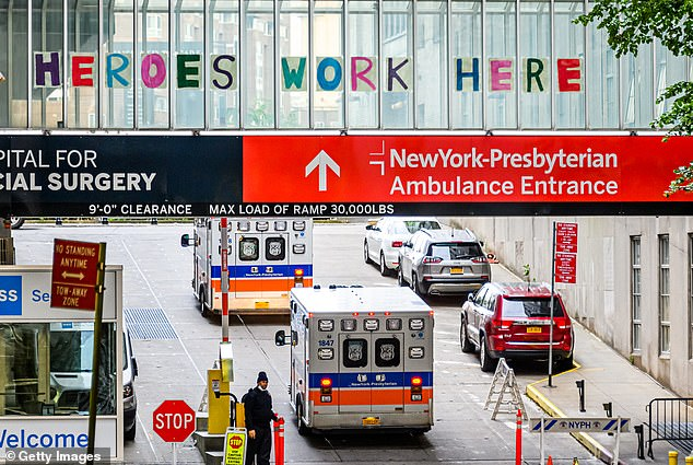 NewYork-Presbyterian hospital is the only one of the cities 11 hospitals to have set a vaccine mandate, giving employees until September 1 to get the shots