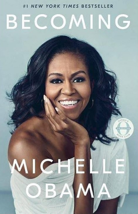 The advance to beat: Barack and Michelle Obama were paid a joint advance of $65million by Penguin Random House for their biographies. It was the highest advance ever paid