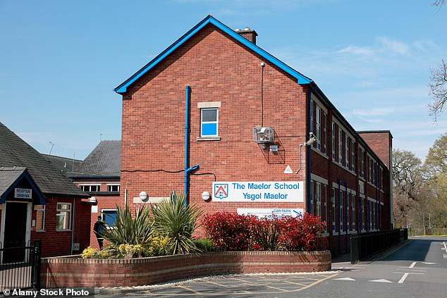 Alison Grant-Ryder, 62, who claimed pupils' aerosols worsened her ill-health yesterday won £78,000 in compensation for unfair dismissal fromMaelor School in Wrexham, North Wales