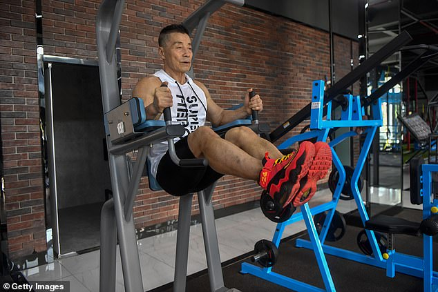 'My goal is maintaining health and anti-aging in order to have the energy to do something else,' Mr Xinmin said