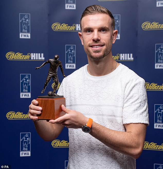 Just last year Henderson was named the Football Writers Association player of the year