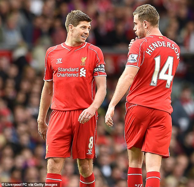 Liverpool have been in an awkward situation like this before with club legend Steven Gerrard