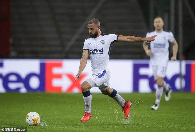 Kemar Roofe also scored a sensational goal from the halfway line against Standard Liege