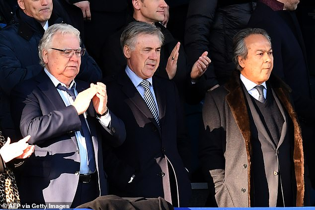 Owner Farhad Moshiri (right) is ambitious but has seen £500m lead to very little progress