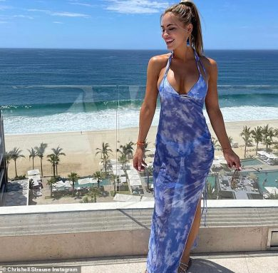 Selling Sunset star Chrishell Stause in bikini as she celebrates her fortieth birthday early