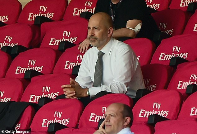 Gazidis, who now works for AC Milan, is fully confident about making a complete recovery