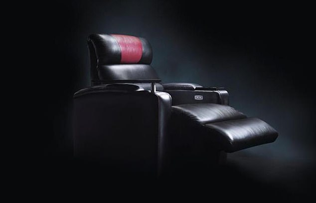 Ateeq Rafiq, 24, died after he was crushed by a VIP cinema seat similar to this one while trying to retrieve his mobile phone and car keys