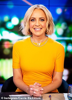 The Project's Carrie Bickmore (left) has complained that Australia is now in a worse place than when the pandemic first began 18 months ago