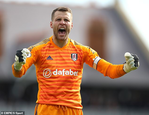 Aston Villa have moved for ex-Fulham goalkeeper and England international Marcus Bettinel