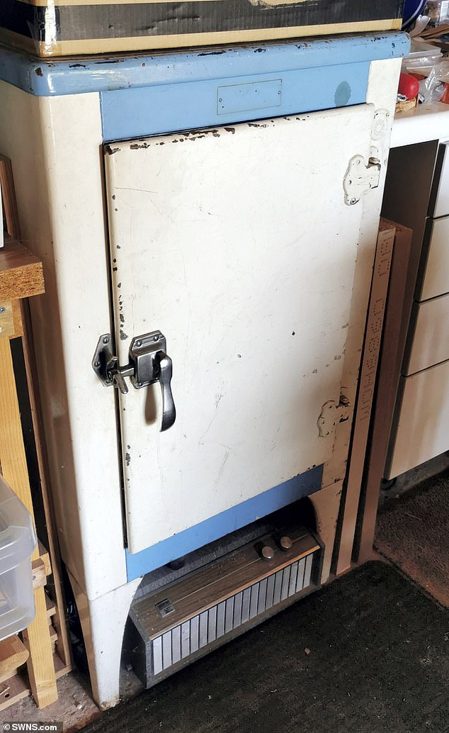 The pair in their 70s from Stonehouse, Gloucestershire, have even been relying on the appliance during the recent heatwave which saw their newer fridge-freezer need replacing