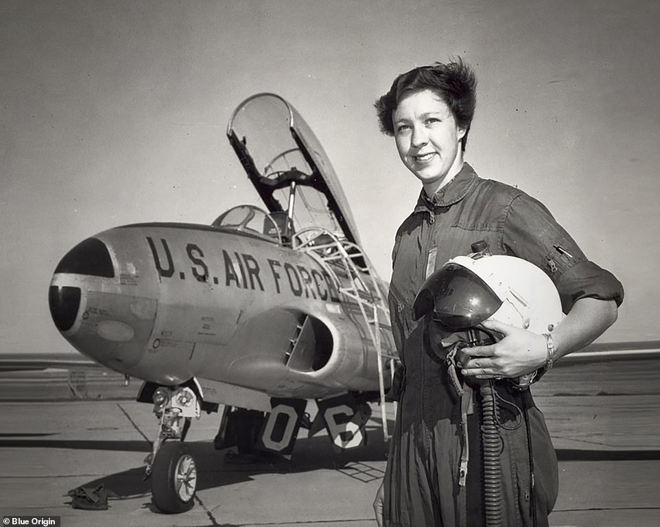 At 20, she became a professional aviator, working as a civilian flight instructor at Fort Sill, Oklahoma