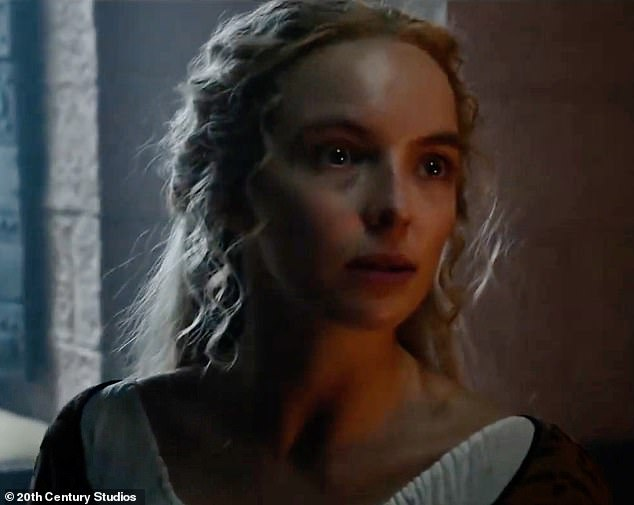 Her story: In the trailer, Jodie can be heard saying in character: 'My father told me my life would be blessed with good fortune... then I was judged and shamed by my country'