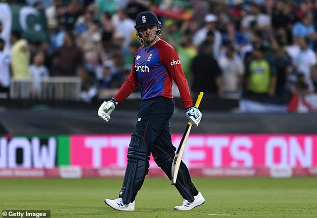 Roy departed after making his half century after he was caught off Usman Qadir