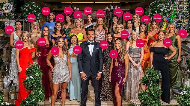Snake in the grass:The Bachelor is filmed in advance and there are plenty of people - including the cast, crew and publicists - who know the outcome