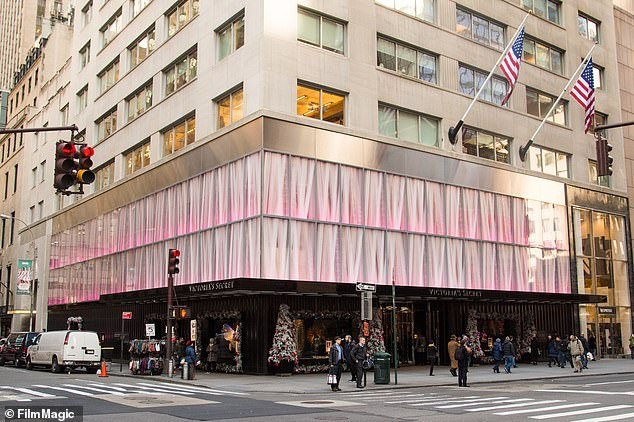 Revamping: Victoria's Secret flagship Fifth Avenue store has been closed since last March due to Covid-19
