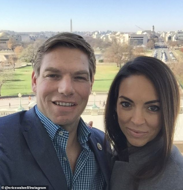 FEC filings suggest Rep. Eric Swalwell's campaign spent more than $20,000 at the hotel where his wife Brittany has been the director of sales since 2015