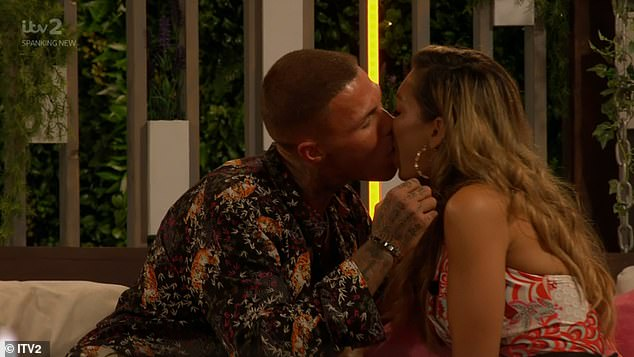 That was quick! Tuesday's Love Island proved to be an eventful episode as AJ locked lips with fellow newcomer Danny, just minutes after she was friendzoned by Hugo