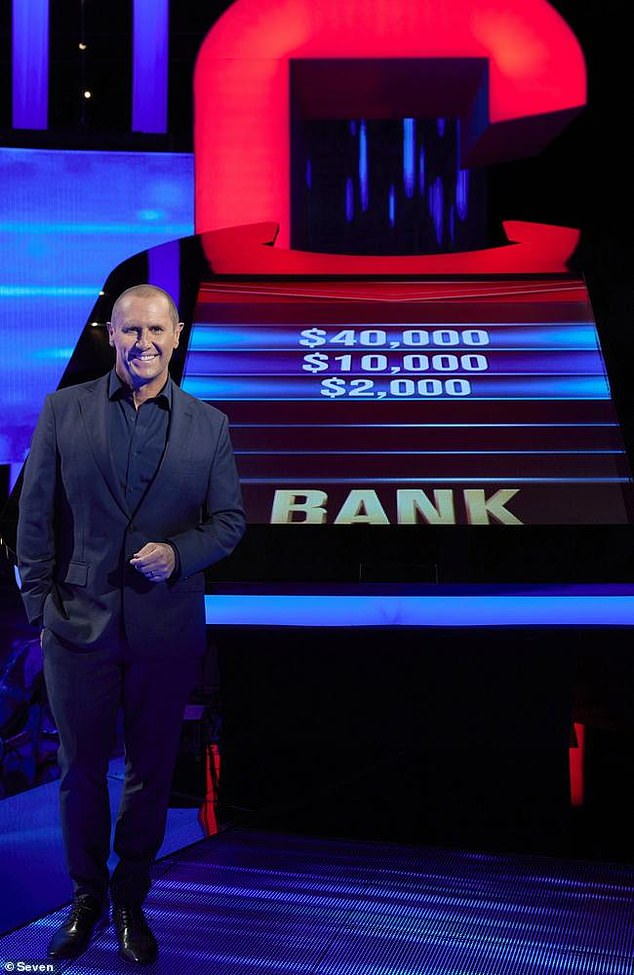 Valuable asset:'Between The Morning Show and The Chase, Emdur is now on the big bucks,' an insider told New Idea on Monday.'After rounds of negotiations, he's sitting very pretty. He has effectively saved the network's most successful game show ¿ so he's worth every penny!'