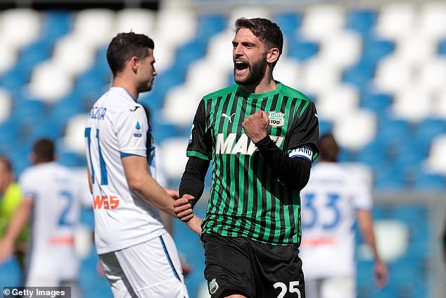 Chelsea have enquired into signing Sassuolo and Italy forward Domenico Berardi, according to reports in Italy