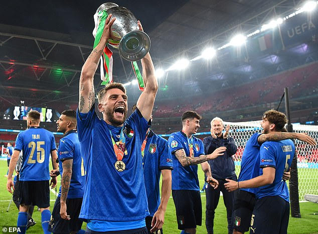 The 26-year-old impressed for Roberto Mancini's men at Euro 2020 as his side went all the way
