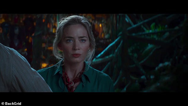 Can't wait:Dwayne added that he just 'can't wait for everybody to see her in this movie because she truly is the female version of — and this is saying a lot — but she truly is the female version of Indiana Jones'
