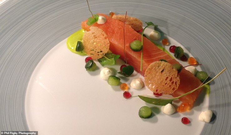 The Old Stamp House Restaurant (dish from it above) has been handed the accolade as part of Tripadvisor's 2021 Travellers' Choice 'Best of the Best' Restaurants Awards