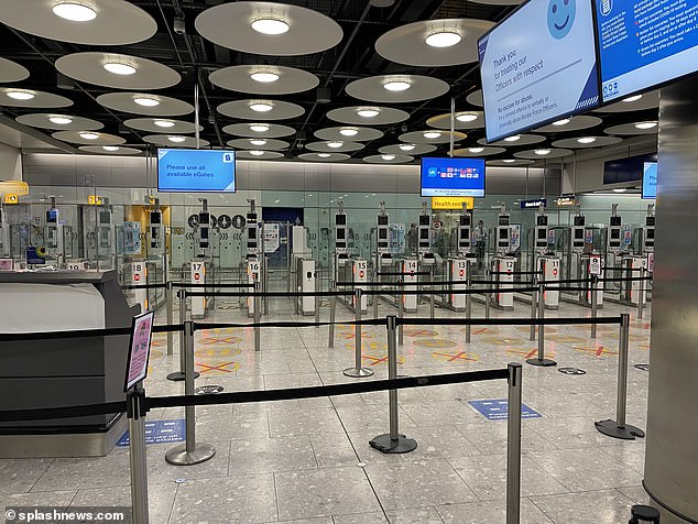 Passport e-gates will also no longer refer passengers to in-person checks by Border Force officers if a passenger locator form is not found, the paper reports