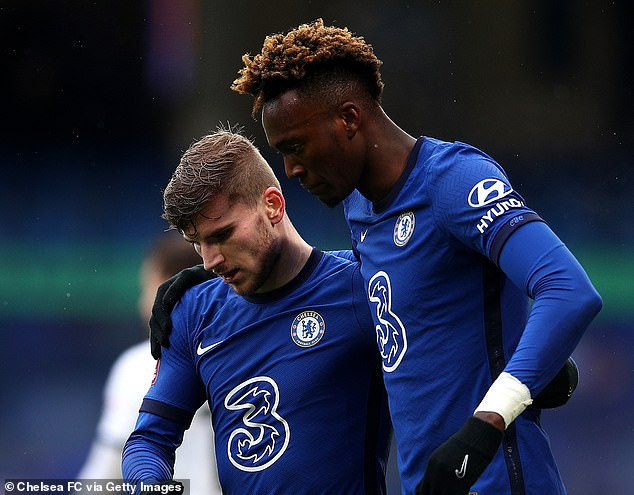 Abraham was Chelsea's joint top scorer last season with Werner, despite the German being expected to score the goals following his £53million transfer last summer.