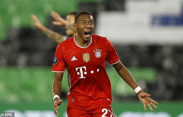 Alaba will go down in Bayern's history having helped them win 10 Bundesliga titles