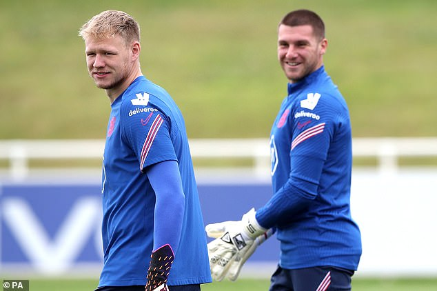 According to reports, Arsenal view Ramsdale (L) as their top priority over Sam Johnstone (R)