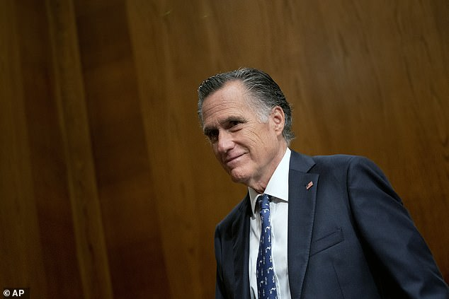 Republican Senator Mitt Romney is one of the lawmakers advocating to delay the vote until Monday to give them more time to negotiate