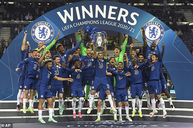 Chelsea will show off the Champions League title during a pre-season match with rivals Spurs
