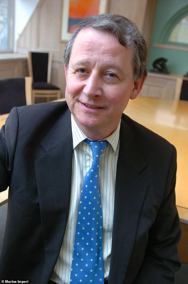 Tony Shearer (pictured), who had a net worth of just over £2 million, left his entire estate to his second wife of ten years Pamela, 69