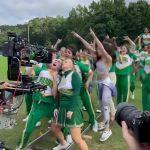 Actress Rebel Wilson offers up a sexy twerk as she films Senior Year 💥👩💥
