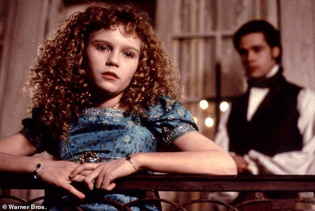 Blood sucker:Interview With The Vampire was released in 1994 and starred Brad Pitt, 57, as vampire Louis de Pointe du Lac and Kirsten, 39, as five-year-old vampire Claudia