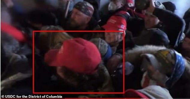 In newly released footage, Morss was identified during the January 6 U.S. Capitol uprising, collaborating with other rioters and inciting clashes with police.