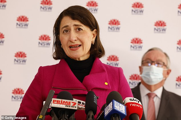 Gladys Berejiklian announced that NSW registered 124 new cases on Thursday morning, with a worrying 48 infectious in the community