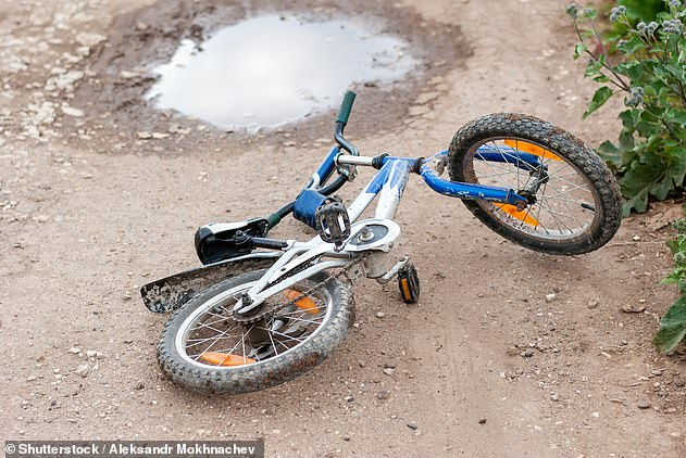 Local families have launched a petition calling on the municipality to leave the bike jumps as they are and allow children to continue to build and work together (file image bike shown)