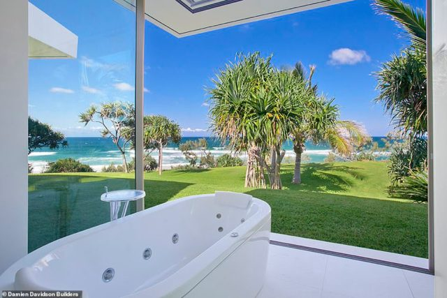 The property is affectionately known as 'Webb House' and boasts world class ocean views in Noosa on Queensland's Sunshine Coast