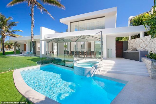 The luxury mansion at Noosa in Queensland reportedly was sold to billionaire Gina Rinehart for $34 million