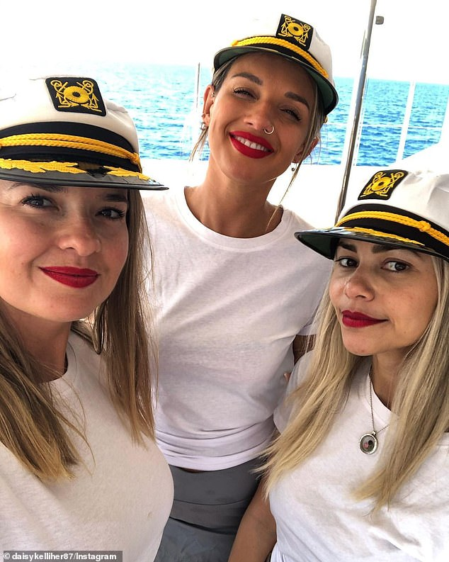 Switch!  Below Deck Sailing Yacht's Alli Dore, Dani Soares and Daisy Kelliher officially debuted their Pita Party podcast on Spotify this week