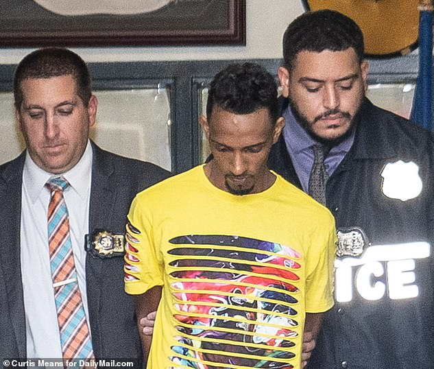 Argenis Rivas, 29, is in custody for a collision that left a 4-year-old boy in critical condition after being hit by a dirt bike in Queens on Sunday, police said.